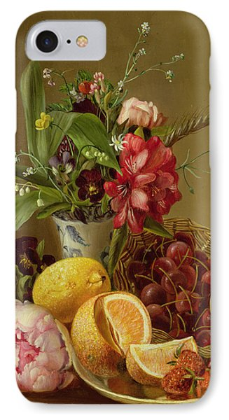 Still Life IPhone Case by Albertus Steenberghen