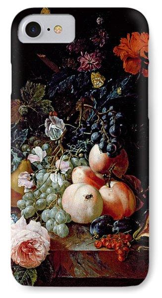 Still Life  IPhone 7 Case by Johann Amandus Winck