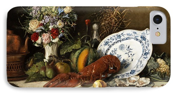 Still Life IPhone Case by Otto Goldmann