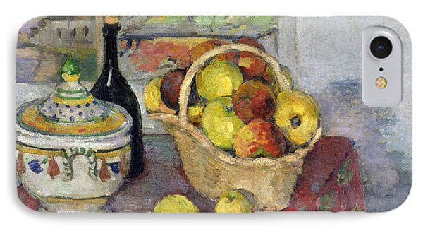 Still Life With Tureen IPhone Case by Paul Cezanne