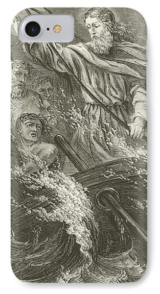 Stilling The Tempest  IPhone Case by English School