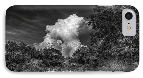 Storm Beyond The Meadow IPhone Case by Marvin Spates