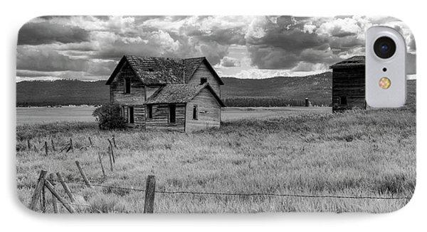 Storm Over Big Sky Montana IPhone Case by Sandra Bronstein