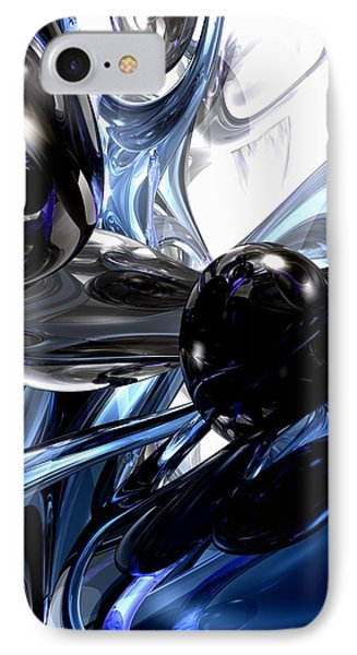 Storm Shadow Abstract Phone Case by Alexander Butler