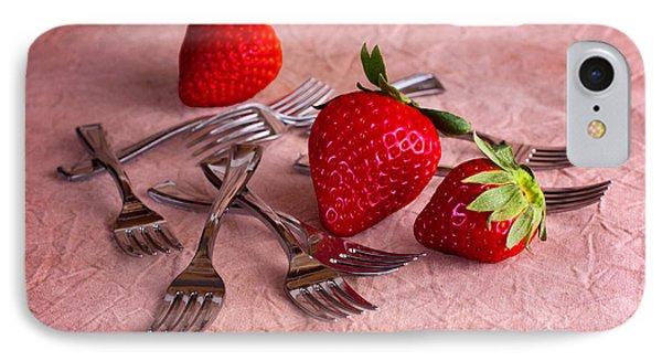 Strawberry Delight IPhone Case by Tom Mc Nemar