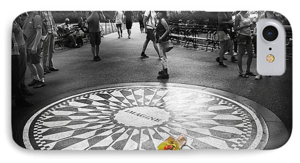 Strawberry Fields Forever IPhone Case by Jessica Jenney