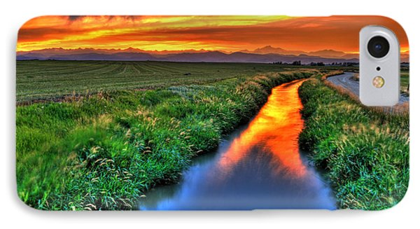 Stream Of Light IPhone Case by Scott Mahon