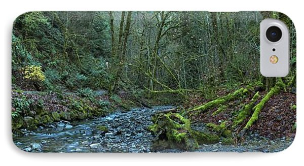 Streaming Through Goldstream IPhone Case by Adam Jewell