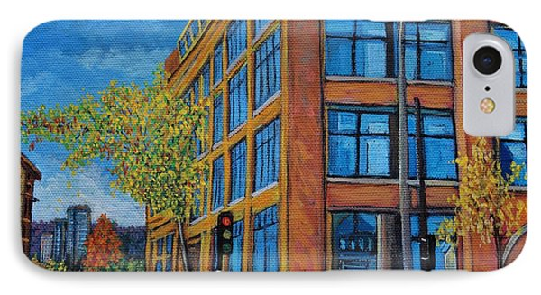 Street Study Montreal IPhone Case by Reb Frost