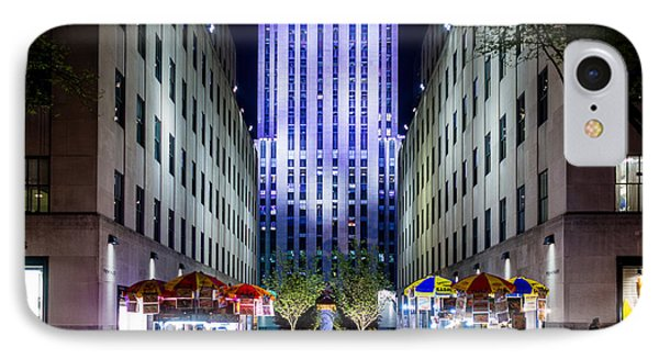 IPhone Case featuring the photograph Rockefeller Center by M G Whittingham