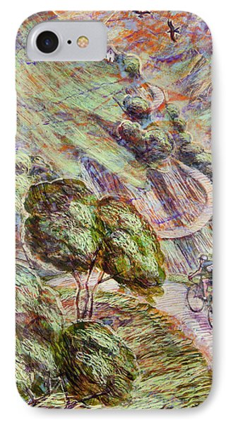 Striving To Sotres 1 IPhone Case by Mark Howard Jones
