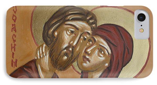 Saints Joachim And Anna IPhone Case by Olimpia - Hinamatsuri Barbu