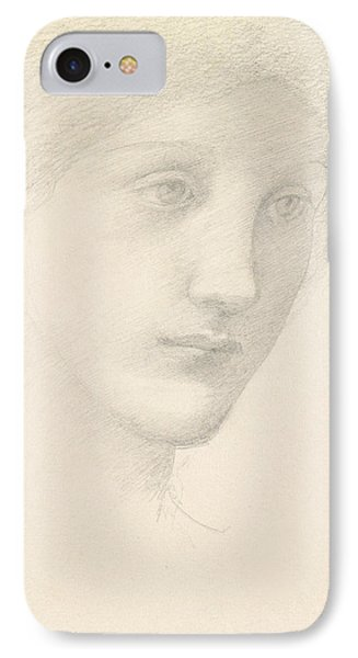 Study For The Venus In The Godhead Fires IPhone Case by Sir Edward Burne-Jones
