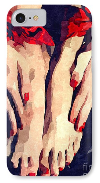 Submission In Red IPhone Case by BDSM love
