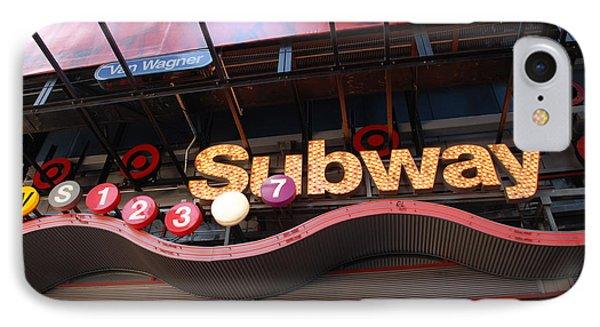 Subway Phone Case by Rob Hans