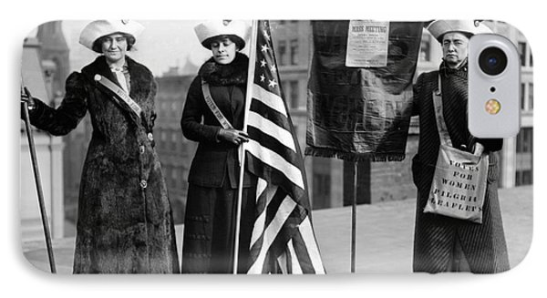 Suffragettes, C1910 IPhone Case by Granger