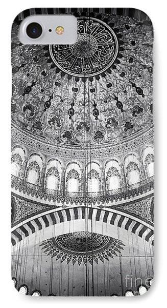 Suleymaniye Ceiling Phone Case by John Rizzuto