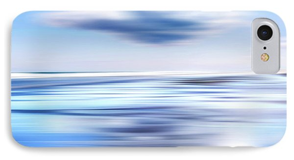 Summer Beach Blues IPhone Case by Bill Wakeley