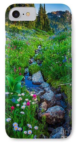 Summer Creek IPhone 7 Case by Inge Johnsson