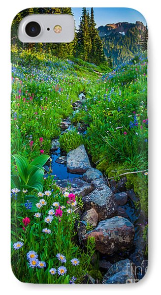 Summer Creek IPhone Case by Inge Johnsson