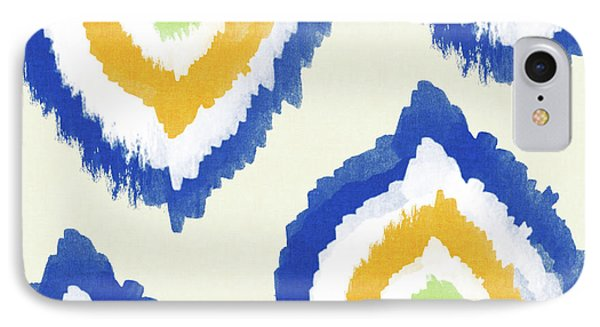 Summer Ikat- Art By Linda Woods IPhone Case by Linda Woods