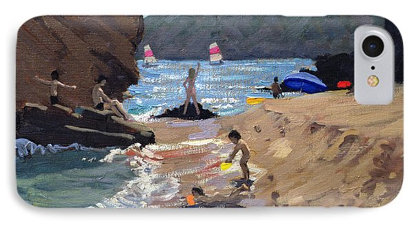 Summer In Spain IPhone Case by Andrew Macara