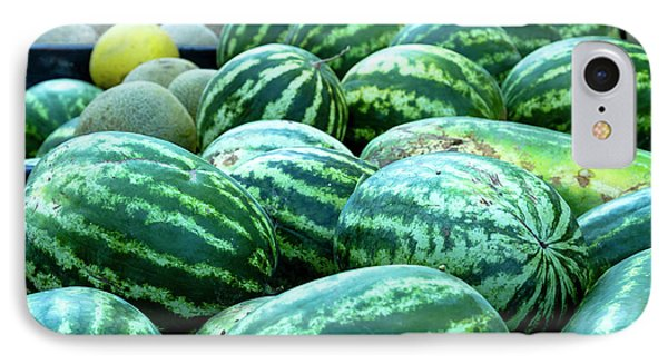 Summer Melons IPhone Case by Teri Virbickis