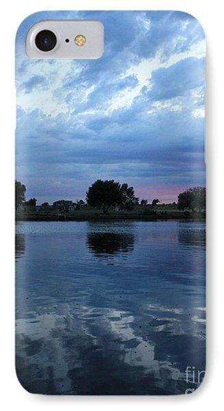 Summer Sunset On Yakima River 5 Phone Case by Carol Groenen