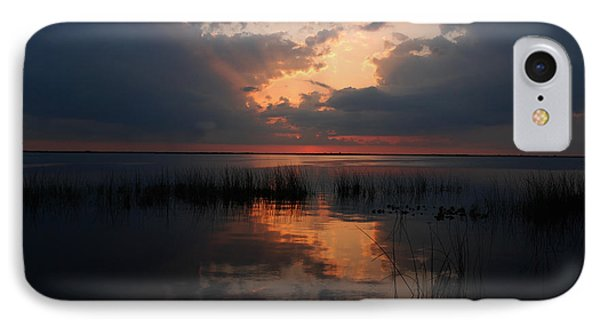 Sun Behind The Clouds Phone Case by Susanne Van Hulst