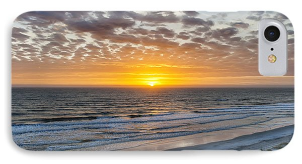 Sun Rising Over Atlantic IPhone Case by Elena Elisseeva