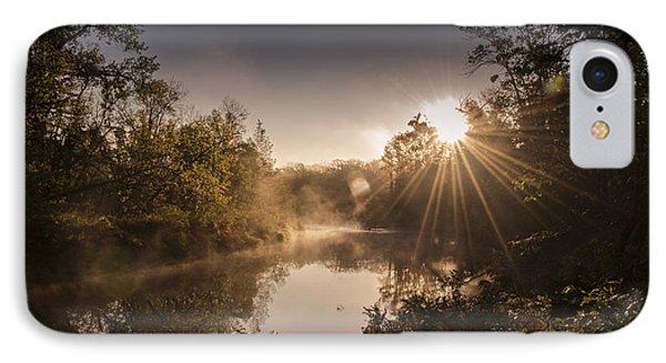Sunbeams  IPhone Case by Annette Berglund