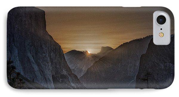 Sunburst Yosemite IPhone 7 Case by Bill Roberts