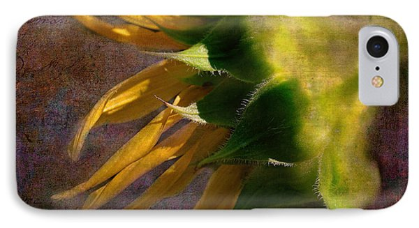 Sunflower On The Side IPhone Case by Bellesouth Studio