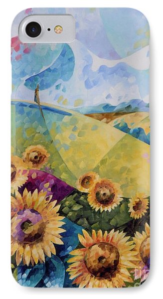 Sunflowers IPhone Case by Beatrice BEDEUR