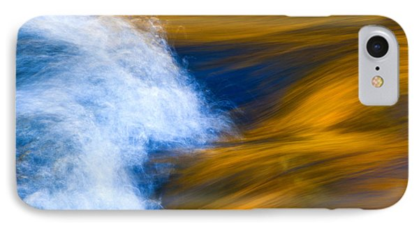Sunlight On Flowing River Phone Case by Bill Brennan - Printscapes