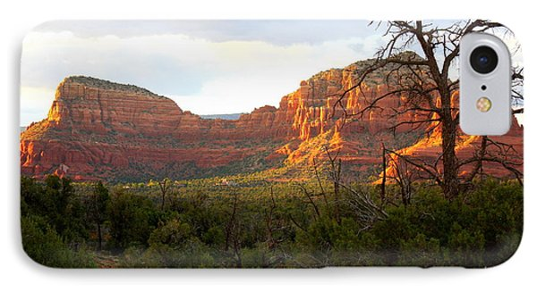 Sunny Sedona Cliffs IPhone Case by Carol Groenen