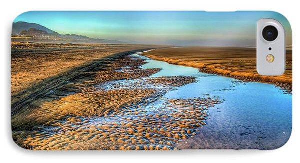 Sunrise At Rockaway Beach Oregon Phone Case by Spencer McDonald