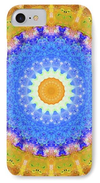 Sunrise Mandala Art - Sharon Cummings IPhone Case by Sharon Cummings