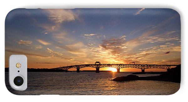 Sunrise On The York River IPhone Case by Rachel Morrison