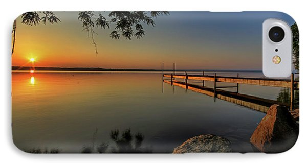 Sunrise Over Cayuga Lake IPhone Case by Everet Regal