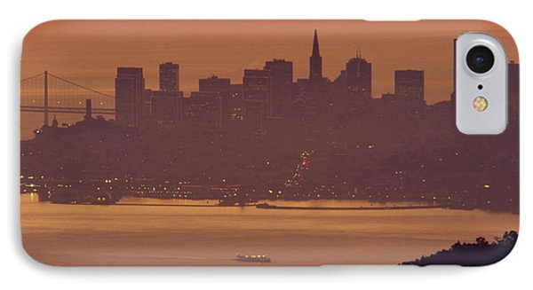 Sunrise Over San Francisco IPhone Case by Soli Deo Gloria Wilderness And Wildlife Photography