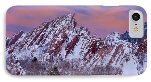 Sunset At Arrowhead IPhone Case by Darren White