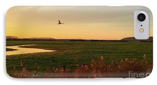 Sunset At Holkam IPhone Case by John Edwards