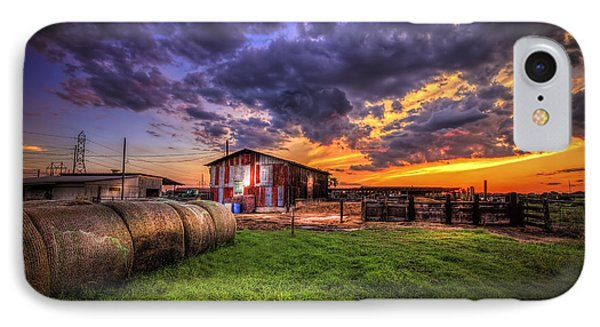 Sunset Dairy IPhone Case by Marvin Spates