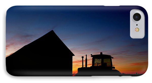 Sunset On The Farm Phone Case by Cale Best