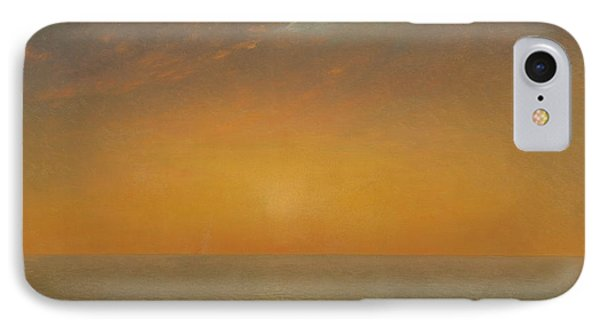Sunset On The Sea IPhone Case by MotionAge Designs