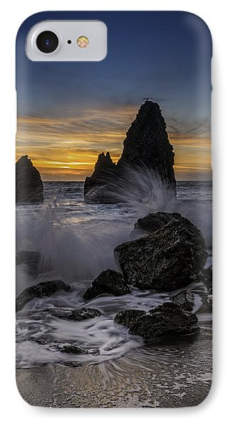 Sunset Tide On Rodeo Beach IPhone Case by Rick Berk