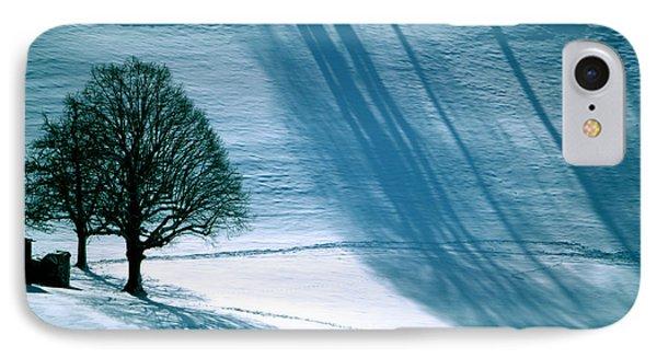 Sunshine And Shadows - Winterwonderland IPhone Case by Susanne Van Hulst