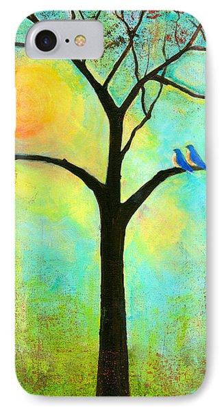 Sunshine Tree IPhone Case by Blenda Studio