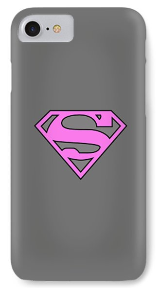 Supergirl Collection IPhone Case by Marvin Blaine